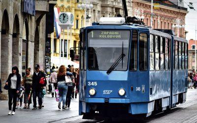 1. faze modernizacije tramvajske infrastrukture u Zagrebu